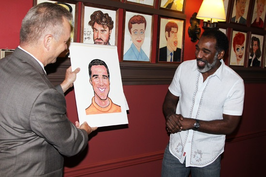 Norm Lewis portrait at Sardis  Max Klimavicius  Norm Lewis
