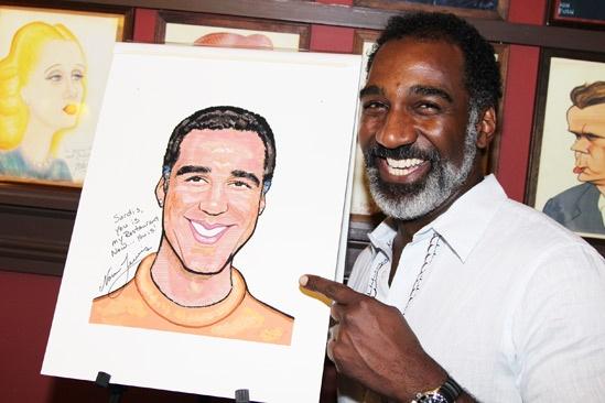 Norm Lewis portrait at Sardi's – Norm Lewis