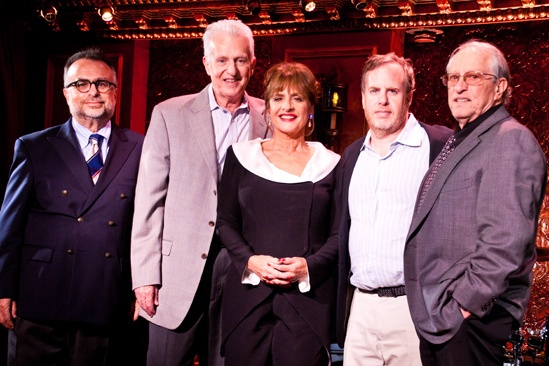 Patti LuPone-54 Below- Richard Frankel- Tom Viertel- Patti LuPone -Marc Routh- Steven Baruch