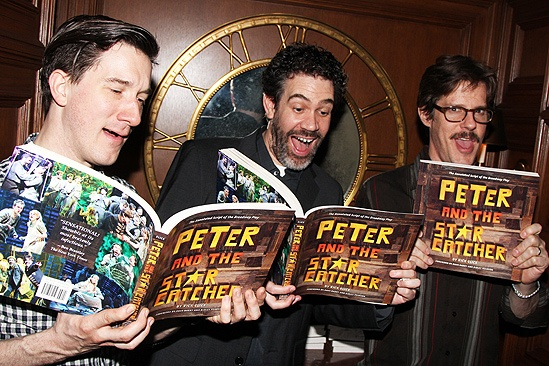 Peter and the Starcatcher Book Party  Carson Elrod  Kevin Del Aguila  Rick Holmes