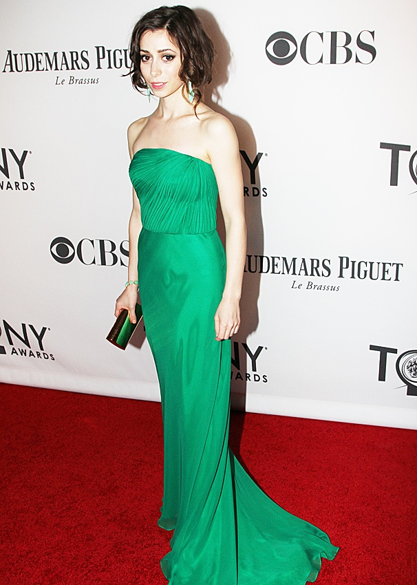 2012 Tonys Best Dressed Women – Cristin Milioti