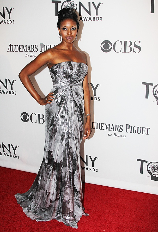 2012 Tonys Best Dressed Women – Condola Rashad
