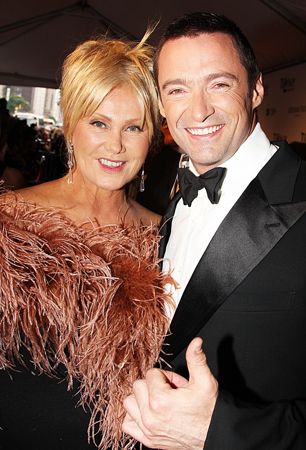 2012 Tony Award Best Pairs- Deborra-Lee Furness- Hugh Jackman 