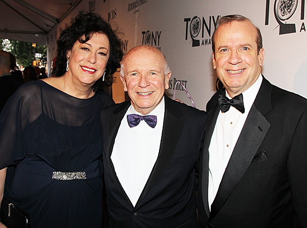 2012 Tony Legends – Lynne Meadow – Terrence McNally – Barry Grove