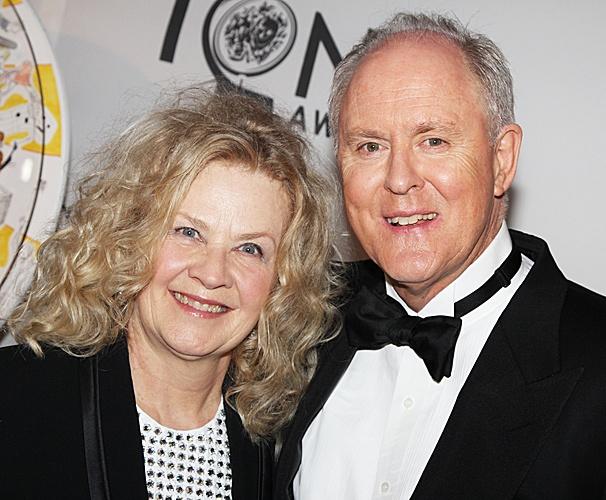 2012 Tony Legends – John Lithgow – wife Mary
