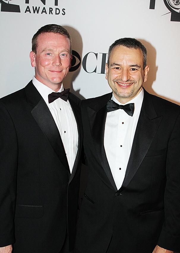2012 Tony Awards – Extras – Derek McCracken - Joe DiPietro