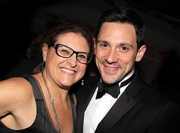 Once Tony party – Liz Caplan – Steve Kazee