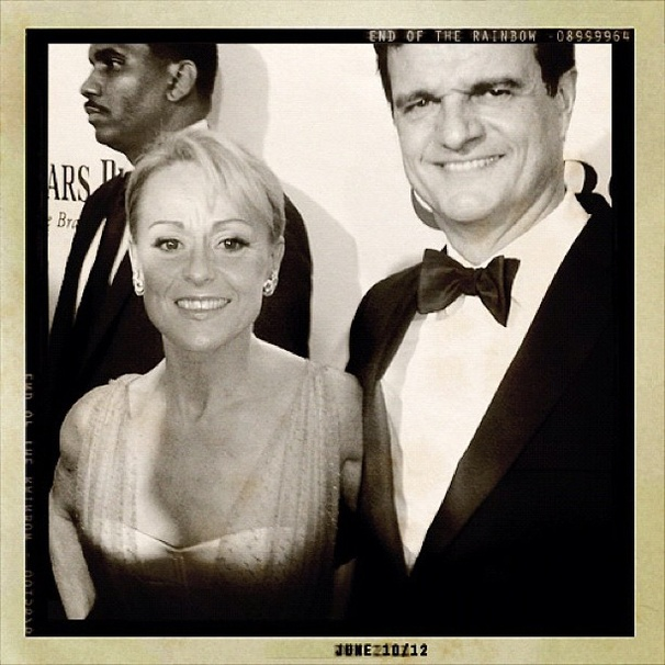 2012 Tony Awards Instagram Snapshots – Tracie Bennett – Michael Cumpsty