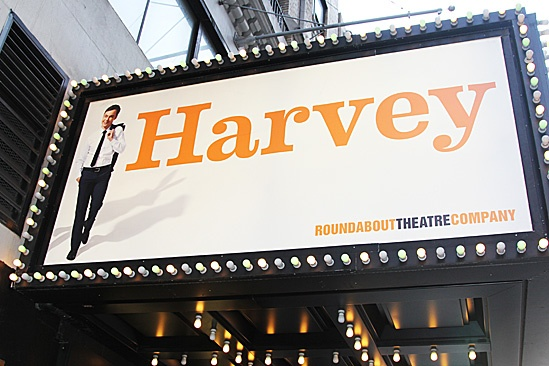Harvey - Opening Night  marquee