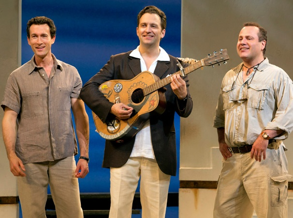 Show Photos - Mamma Mia - Aaron Lazar - Graham Rowat - Daniel Cooney