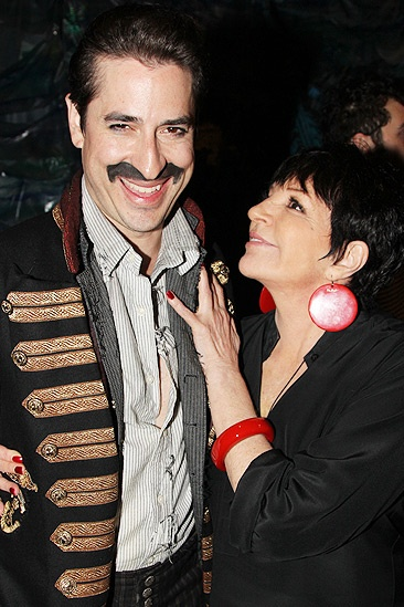 Liza Minnelli and more at Peter and the Starcatcher – Matthew Saldivar – Liza Minnelli