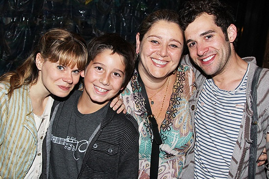 Liza Minnelli and more at Peter and the Starcatcher – Celia Keenan-Bolger  - Milo – Camryn Manheim – Adam Chanler-Berat