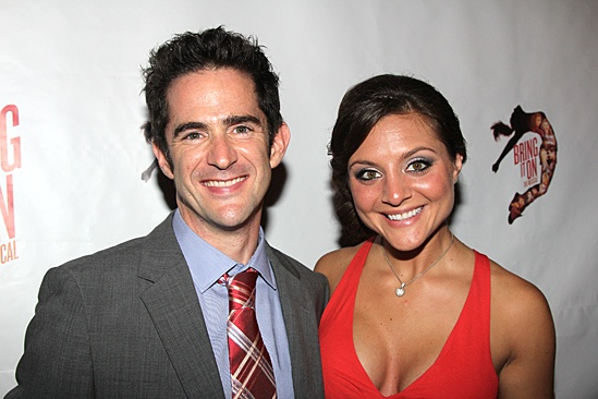 Bring It On Opening Night – Andy Blankenbueler – Jessica Columbo