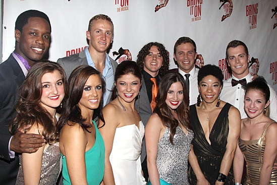 Bring It On Opening Night – The cast on the red carpet