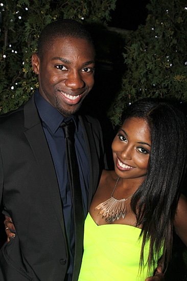 Bring It On Opening Night – Adrienne Warren – Dominique Johnson