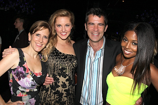 Bring It On Opening Night – Kristin Caskey – Taylor Louderman – Mike Issacson – Adrienne Warren