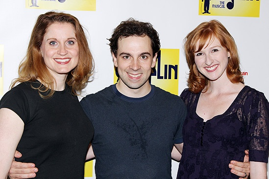 Chaplin  Meet and Greet  Christiane Noll  Rob McClure - Erin Mackey