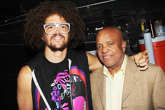 Berry Gordy and LMFAO at Bring It On  Berry Gordy  Redfoo
