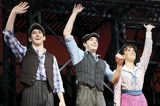 Newsies- Ben Fankhauser- Corey Cott- Kara Lindsay