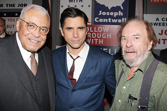 The Best Man  Closing Night  James Earl Jones  John Stamos  Rip Torn