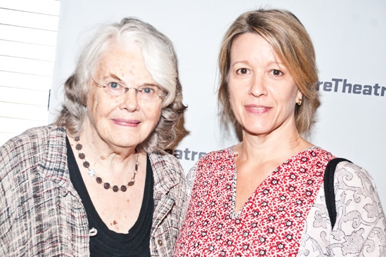 The Train Driver  Opening Night - Lois Smith  Linda Emond
