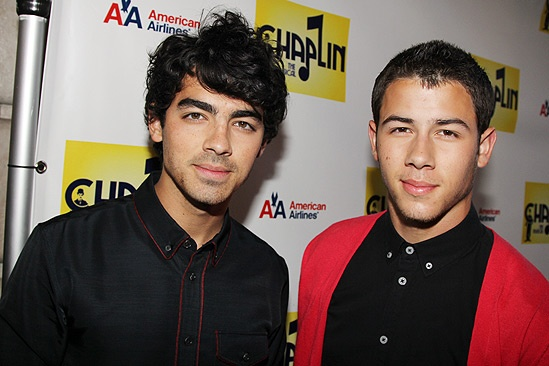 Chaplin – Opening Night – Joe Jonas – Nick Jonas