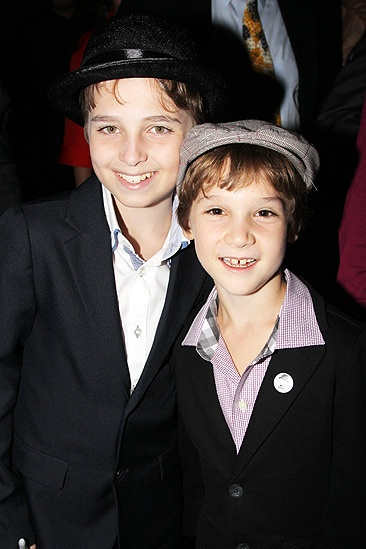 Chaplin  Opening Night  Ethan Khusidman - Zachary Unger