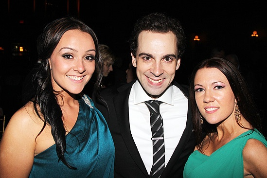 Chaplin  Opening Night  sister - Rob McClure  sister