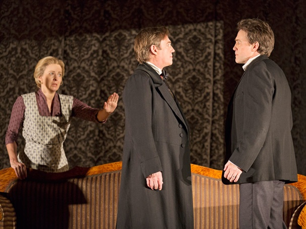 Show Photos - An Enemy of the People - Kathleen McNenny - Richard Thomas - Boyd Gaines