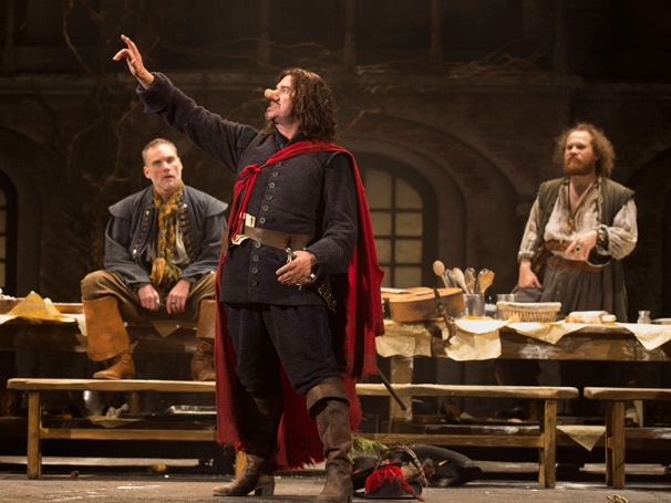 Show Photos - Cyrano de Bergerac - Peter Bradbury - Douglas Hodge - Andy Grotelueschen