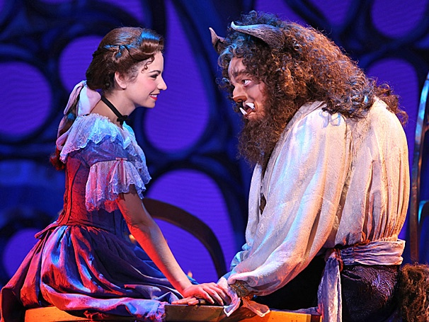 Beauty and the Beast - tour - Darick Pead - Hilary Maiberger
