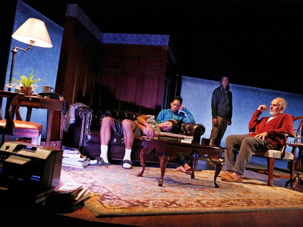 Show Photos - Don't Go Gentle - Maxx Brewer - Angela Lewis - David Wilson Barnes - Michael Cristofer