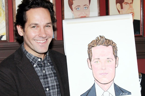 Grace – Sardi's Portraits – Paul Rudd