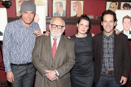 Grace – Sardi's Portraits – Michael Shannon – Ed Asner – Kate Arrington – Paul Rudd