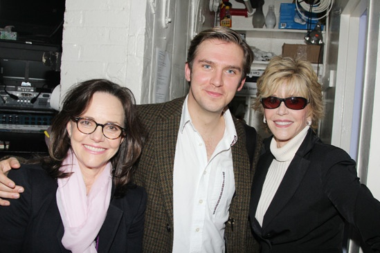 The Heiress – Jane Fonda and Sally Field Visit – Sally Field – Dan Stevens - Jane Fonda