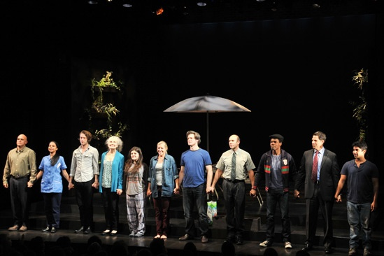 Harper Regan Opening Night – curtain call