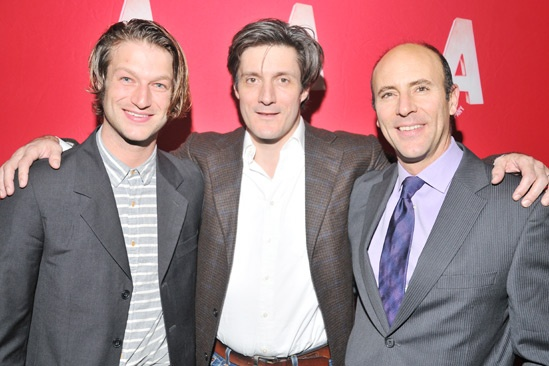 Harper Regan Opening Night  Peter Scanavino  Gareth Saxe  Jordan Lage