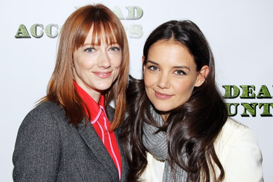 'Dead Accounts' Meet and Greet — Judy Greer — Katie Holmes