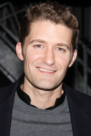 Matthew Morrison at Newsies  Matthew Morrison