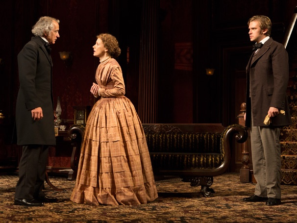 Show Photos - The Heiress - David Strathairn - Jessica Chastain - Dan Stevens