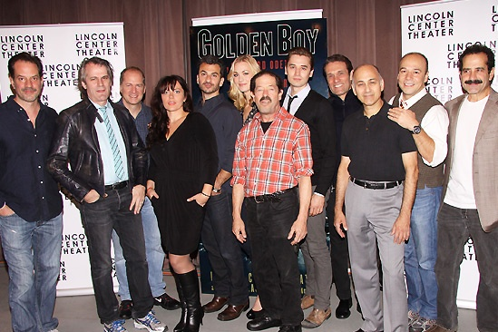 Golden Boy- Barlett Sher and the Cast of Golden Boy