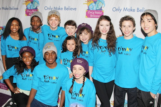 Only Make Believe Gala  Broadway kids 2