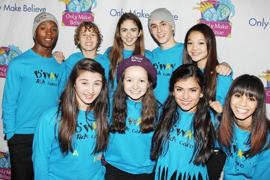 Only Make Believe Gala – Broadway kids 1