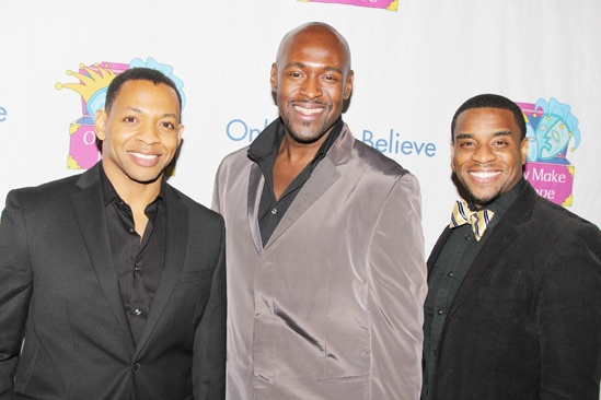 Only Make Believe Gala  Derrick Baskin  John Eric Parker  Antoine L. Smith
