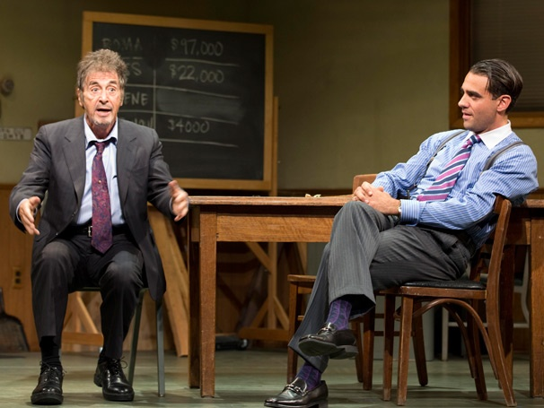 Show Photos - Glengarry Glen Ross - Al Pacino - Bobby Cannavale