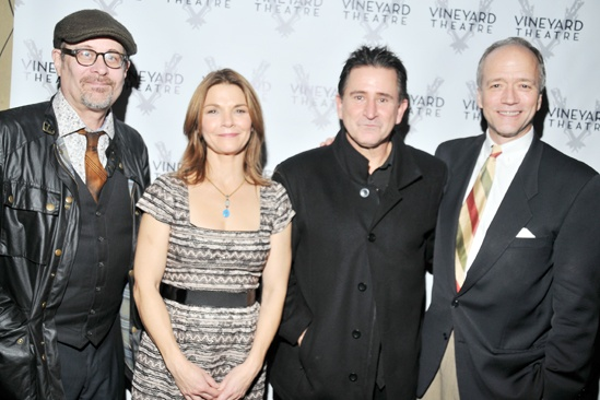 Checkers opening night – Terry Kinney – Kathryn Erbe – Anthony LaPaglia – Douglas McGrath