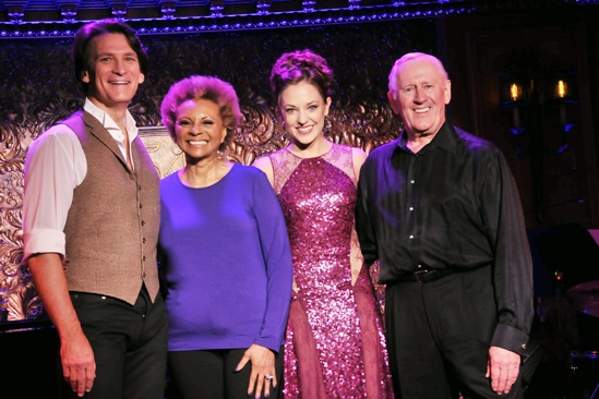 54 Below- Bob Stillman - Leslie Uggams- Laura Osnes- Len Cariou