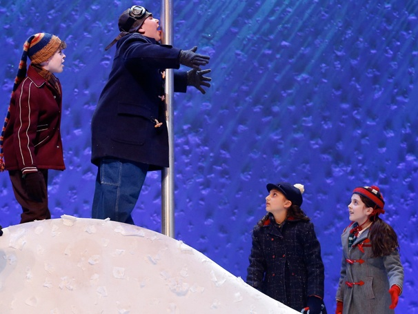 Show Photos- A Christmas Story - J.D. Rodriguez, Jeremy Shinder, Analise Scarpaci and Beatrice Tulchin