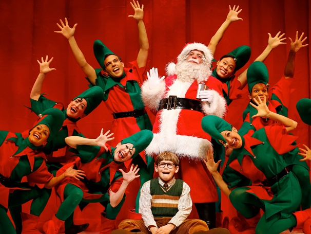 A CHRISTMAS STORY, the musical – Silly stuff but family fun ...