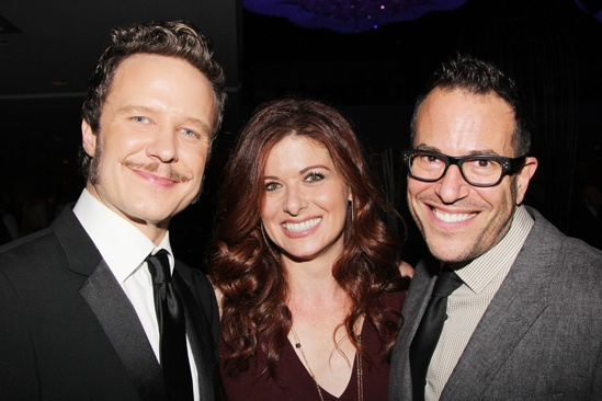 'Mystery of Edwin Drood' Opening Night — Will Chase — Debra Messing — Michael Mayer